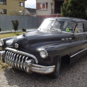 Buick Special, 1950 m. (series 40 Deluxe)