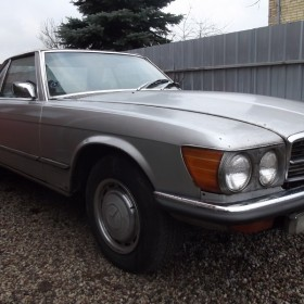 1972 Mercedes Benz 380 SL